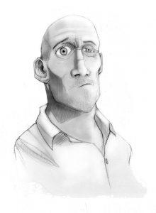 Tom Charles (Self Portrait)